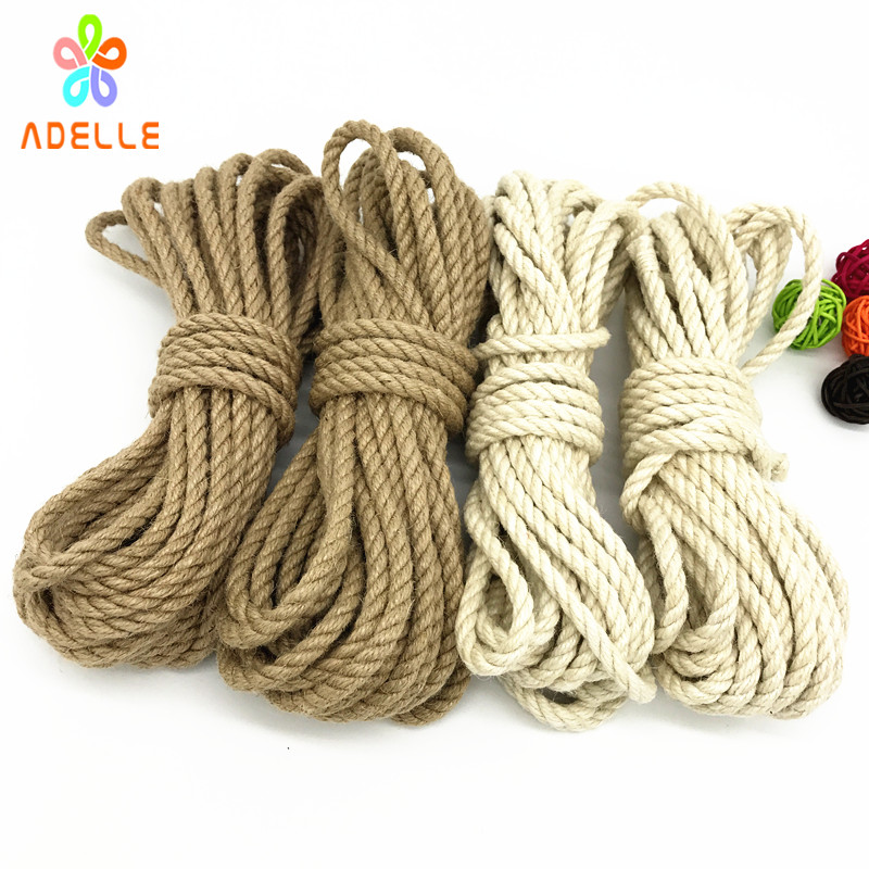 Home Pink And Red Soft Twisted Ropes With Bow Erotic Bundles Cotton Bondage Long10m Bdsm Roleplay Sex Toy Kit Adult Sex Game Products