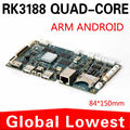 Fabricantes fornecimento directo XCY rockchip RK3188 quad core computador publicidade máquina dedicada motherboard Android
