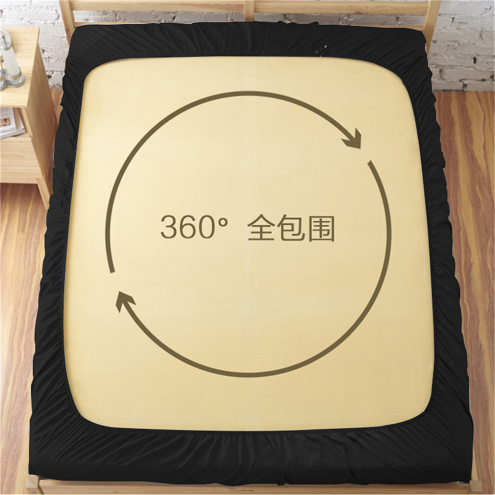 Blue Red Tai Chi Design Bed Sheet Sports Football Print Fitted Sheet Teens Bedding Soft Bedclothes Deep Pocket Sheet D30 in Sheet from Home Garden