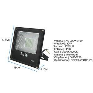 Image 2 - BUYBAY LED projektör 220V 240V 30W 50W 100W 200W dış aydınlatma projektör reflektör Led dış spot led exterieur