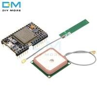 GPRS gps A9G модуль основной платы пудинг макетная плата SMS Голосовая Беспроводная передача данных IOT с антенной Diy Электронный