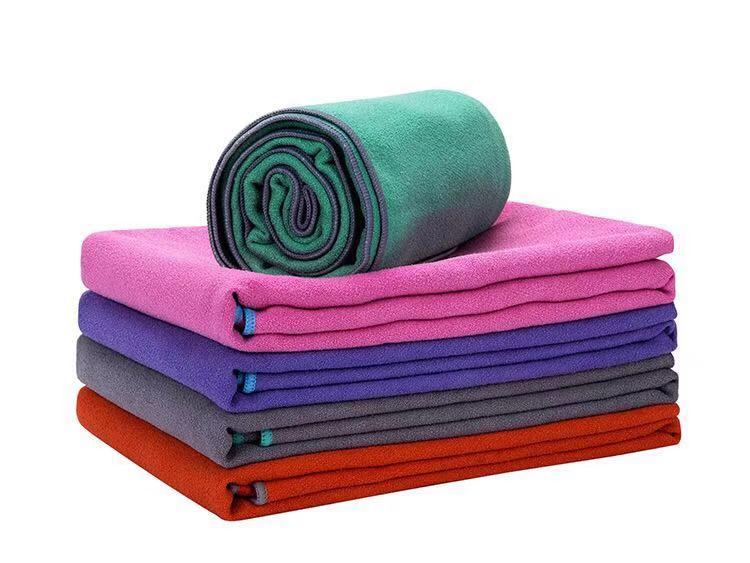ZHUOHE 24 quot x72 quot Bikram Yoga Mat Towel Non slip Yoga Blanket Microfiber Travel Pilates Hot Yoga Fitness Sports Exercise Gym Beach in Yoga Blankets from Sports amp Entertainment