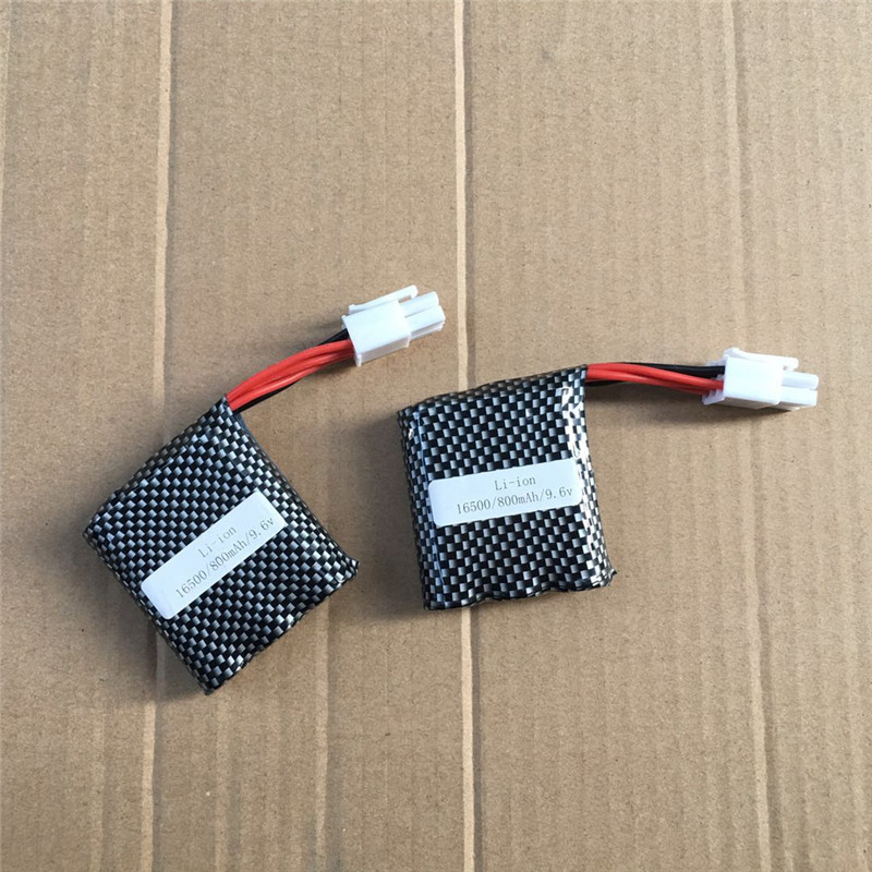 Hot S911 9115 9116 RC Car Model Spare Parts Batttery 9.6V 800MAH Recharge Battery For S911 9115 9116 Remote Control Truck