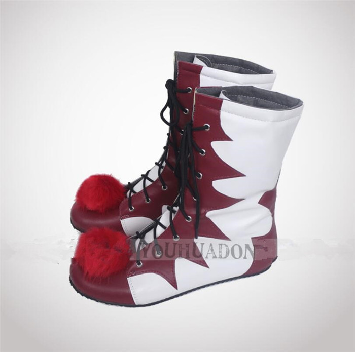 Image 2 - movie Stephen King IT Cosplay Shoes The Clown Pennywise Boots Halloween Cosplay shoes A527-in Shoes from Novelty & Special Use