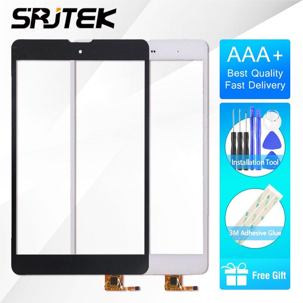 Srjtek 7.85 pour Texet TM-7868 3g TM7868 TM 7868 TM-7887 TM-7877 Écran Tactile Digitizer Capteur En Verre de Panneau Écran Tactile réparation