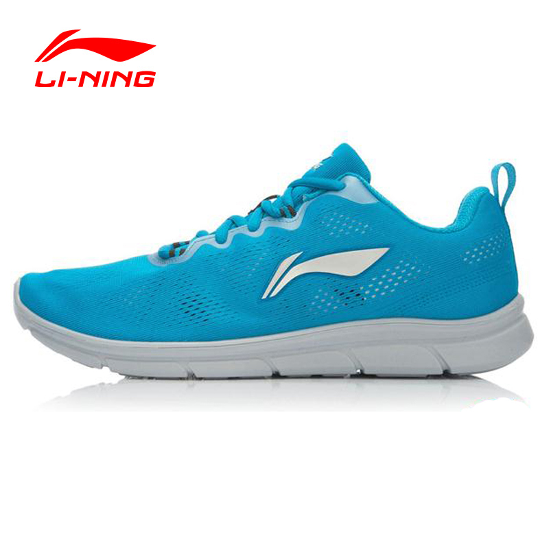 LI-NING Outdoor Running Shoes Men Light Air Mesh Breathable Cushioning Lace-Up Sneakers Sport Shoes ARHK093 XYP252