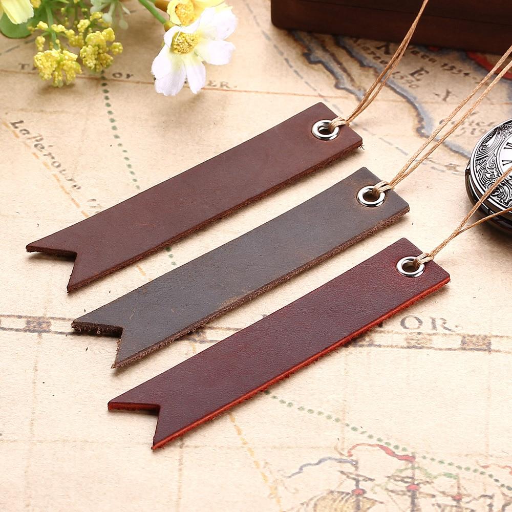 150 PCS Vintage Retro Leather Bookmark, Christmas Present Gift - Birthday Gift - Anniversary - Christmas Custom Leather Gift