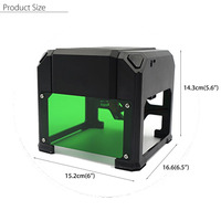 1500mW USB Laser Engraver DIY Logo Mark Printer Cutter Carver Engraving Laser Carving Machine Home Use