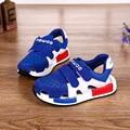 2017 moda Verão meninos Sandálias crianças sapatos menino de alta qualidade anti-slip meninas sapatos novos estilos sapatas dos miúdos do bebê CS251