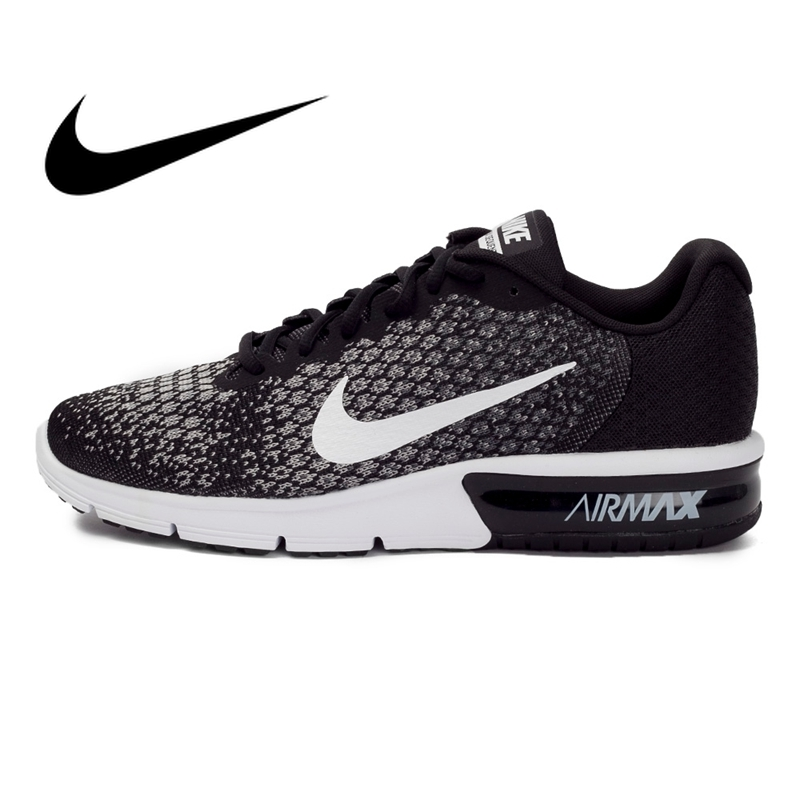 Original authentic NIKE breathable AIR MAX SEQUENT 2 mens running shoes sports shoes outdoor breathable and durable 852461Original authentic NIKE breathable AIR MAX SEQUENT 2 mens running shoes sports shoes outdoor breathable and durable 852461