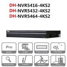 Оригинальный DH NVR системы видеонаблюдения 16/32/64 канала 1.5U 4 К и H.265 Pro сети видео Регистраторы NVR5416-4KS2 NVR5432-4KS2 NVR5464-4KS2