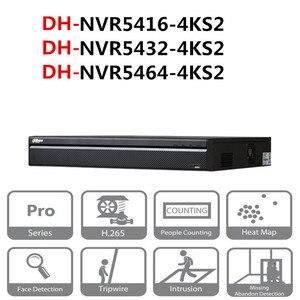 Image 1 - Original Dahua NVR system cctv 16/32/64 Channel 1.5U 4K&H.265 Pro Network Video Recorder NVR5416 4KS2 NVR5432 4KS2 NVR5464 4KS2