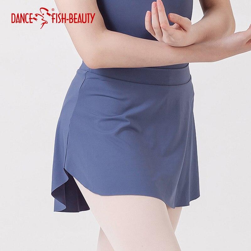 2f7147a1a8 Ballet Skirt Dance Dress Ballet Dress Women Leotard Skirt Side Split Sexy Practice  Skirt DANCE FISH BEAUTY 8143