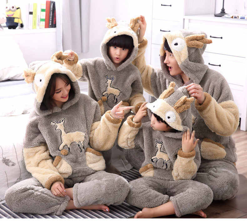 4e01dcda740a Detail Feedback Questions about 3D unisex cartoon deer winter hooded ...