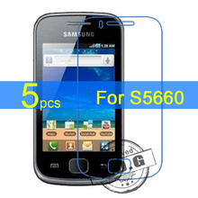 5pcs Glossy Matte Nano anti Explosion LCD Screen Protector Film Cover For Samsung Galaxy Gio S5660