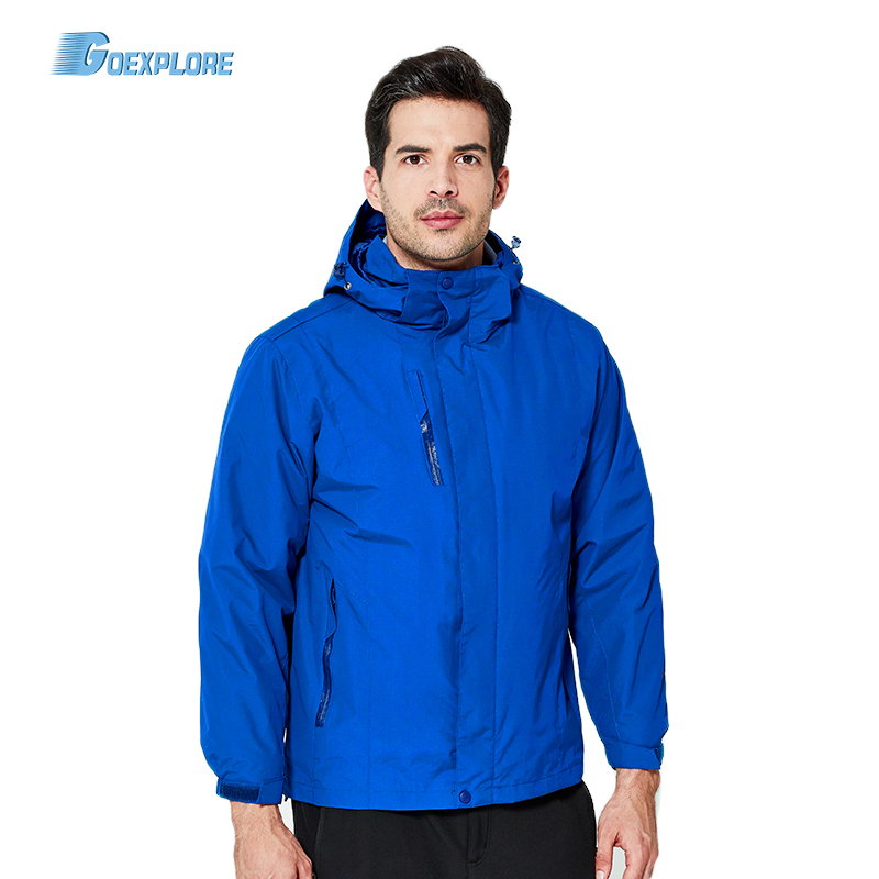 Goexplore Camping Jacket Men L-6XL Warm Winter Outdoor Rain Jacket Windproof Waterproof Mountaineering Climbing Hiking Jacket kangfeng серый цвет 6xl