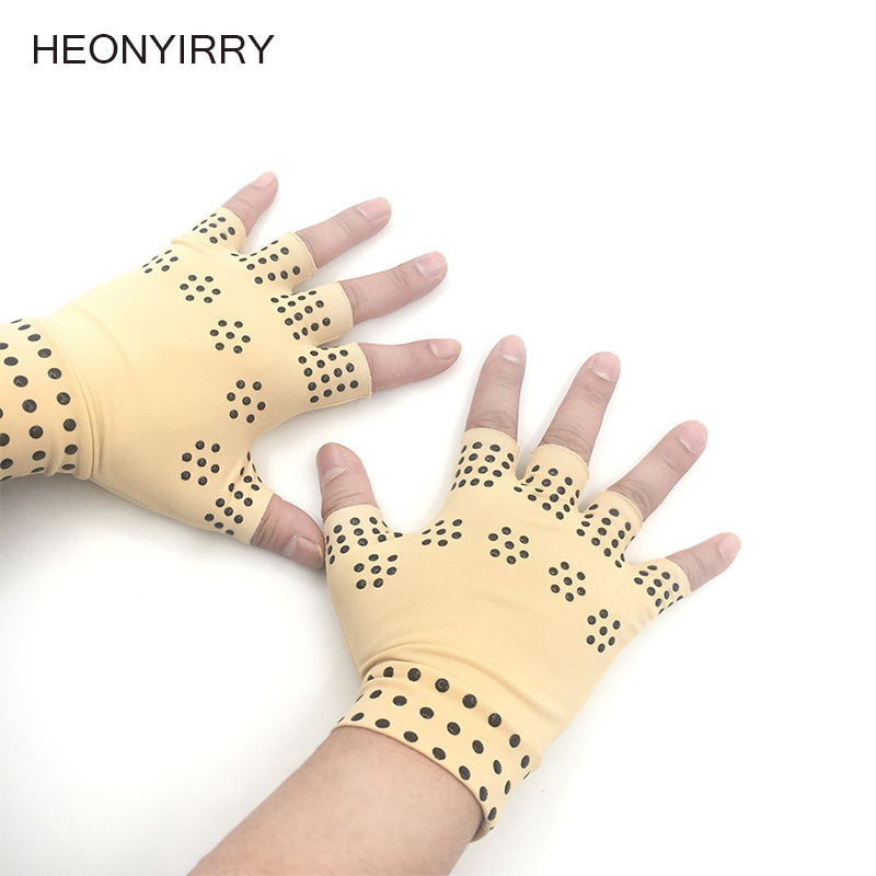 Anti Arthritis Hands Gloves Copper Therapy Compression Copper Gloves Ache Pain Relief New Hot Fashion oro facial pain not just tooth ache