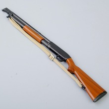 1/6 Scale Ithaca 37 Model  Pump-action Shotgun Toys For 12inch Action Figure Male Body Accessory