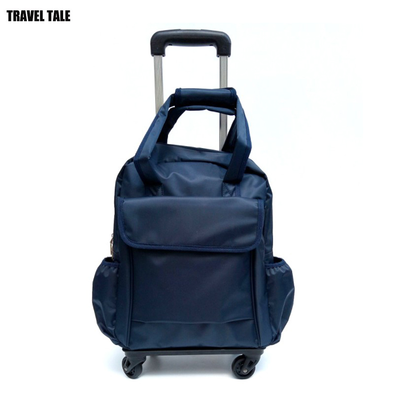 eda59c7bc5cf TRAVEL TALE women small carry on travel bag travelling trolley cabin hand  luggage spinner wheel bag