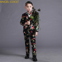 Boys Suits For Weddings Prom Suits Wedding Dress For Boys Kids Tuexdo Children Clothing Set Blazers For Boys Boys Prom Suits