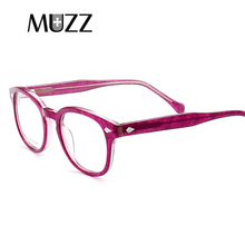 Acetate frame optical eyeglasses Men Square Myopia Frames Eye Glasses Women prescription Spectacles Eyewear