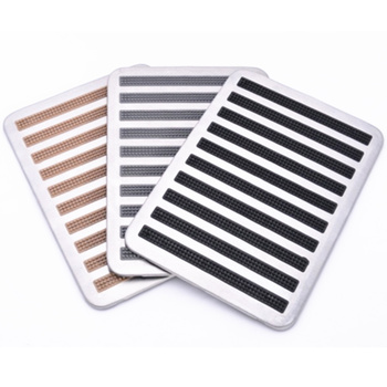 Universal Stainless Steel Fit All Auto Cars Antiskid Foot Floor Carpet Mats Pads Anti-Skid Mat Pad Cover 1PC image