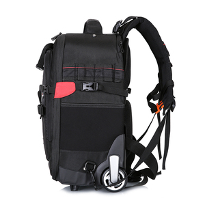 Image 4 - NOVAGEAR 80805 Large space Trolley case  DSLR waterproof backpack multifunction camera bags For Canon/Nikon Camera