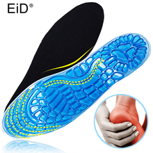 EID Silicone Gel insoles Anti -slip silicon insoles for man and women massaging pad shock absorption comfortable elastic insoles