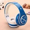 B06 bluetooth wireless headset auriculares auriculares bluetooth soporte de tarjeta tf función de radio interfaz usb choque efecto de graves