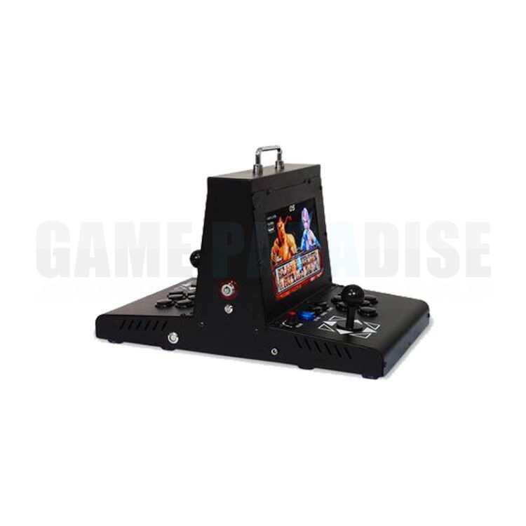 2 player metal case coin operated Arcade Game machine with 10 inch LCD  pandora 9  1500 in 1 main board VGA HDMI output 1