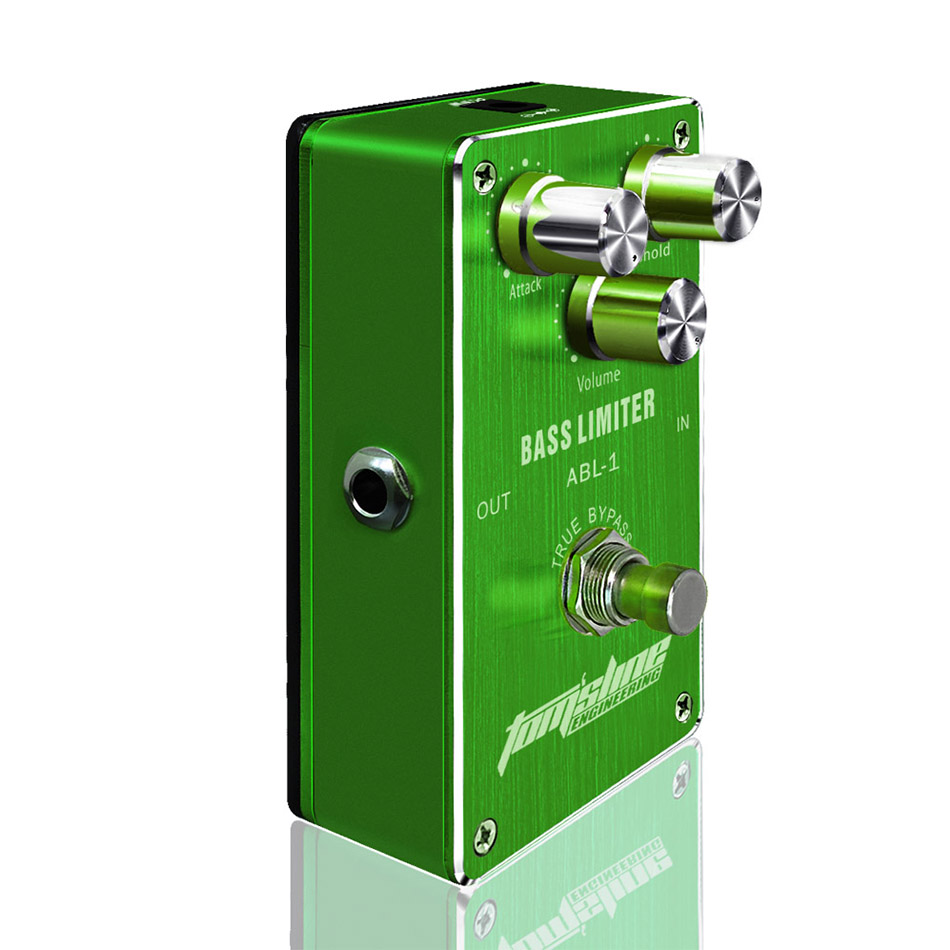 Aroma ABL-1 Bass Limiter Bass Effects Pedal Bass Compressor Reduce Redundant Dynamic Balance Output True Bypass Free Shipping