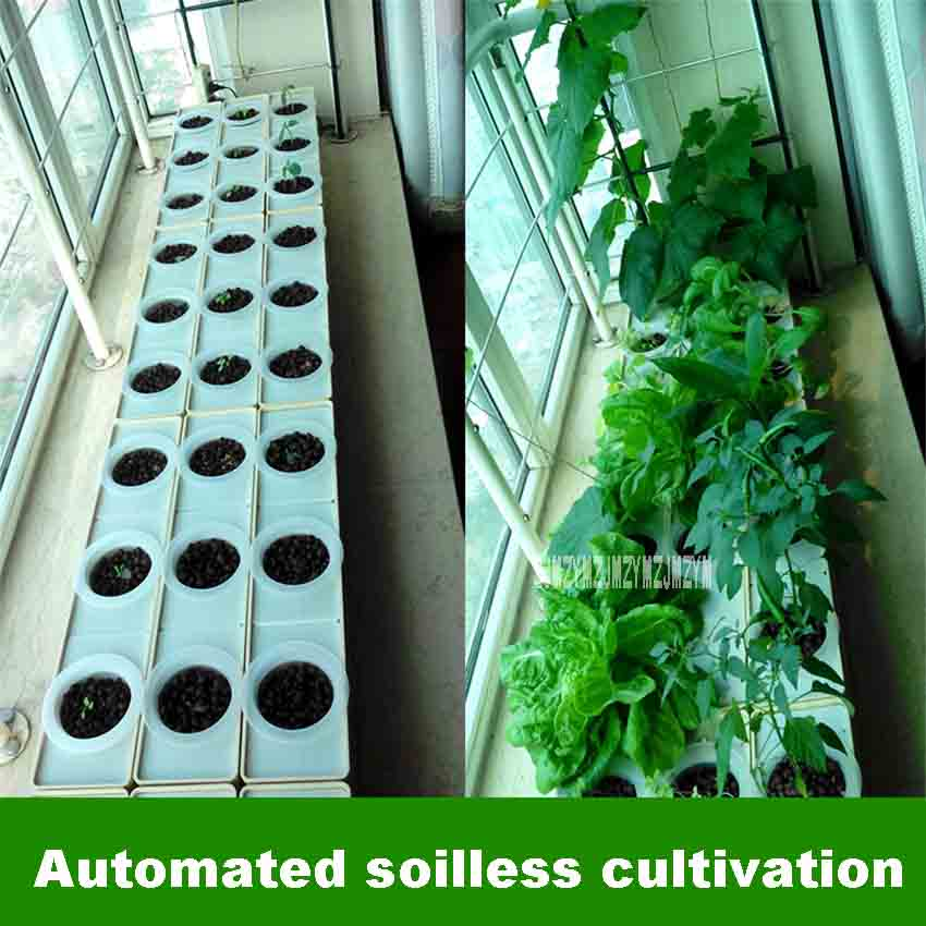 Us 62 23 5 Off Diy Hydroponics System Home Garden Vegetable Growing Box Balcony Planting Hydroponic Equipment Soilless Cultivation Equipment In