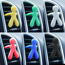 Creative outlet aromatherapy cute little people car-mounted household fragrance solid gifts car accessories