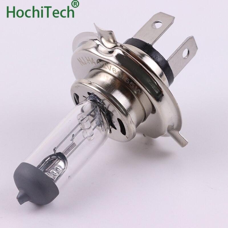 1 шт. H4 9003 HB2 Hi/Lo свет галогенная лампа 4500K 12V 100W 55W 3000Lm теплый белый кварцевый стекло сменная лампа для фары автомобиля