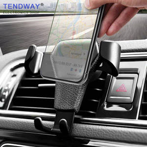 Tendway Smart Car Phone Holder for Phone in Car Gravity Universal Mobile Car Phone