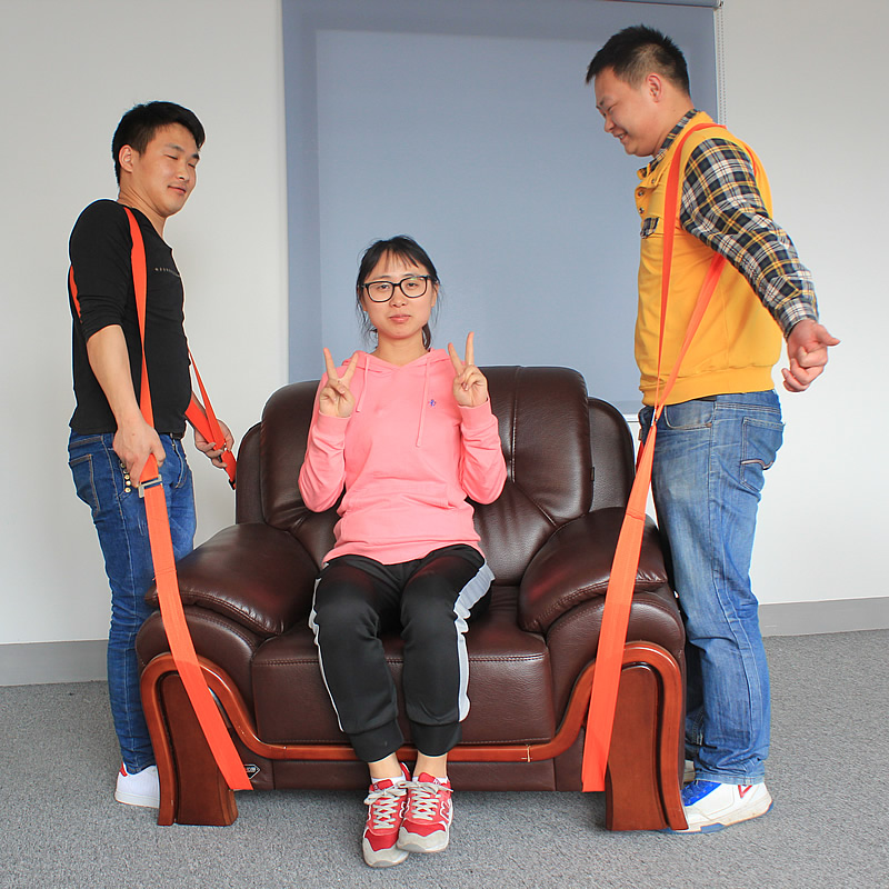 Forearm Forklift Lifting And Moving Straps To Easily Carry Furniture Appliances Mattresses Or Any Heavy Object
