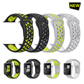 Breathable sport silicone Band for apple watch Series 2 42 38mm Stylish Cool Bracelet Strap for Apple Watch Series 1 bands