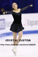 Crystal Custom Figure Skating Dresses Girls New Brand Ice Skating Dresses For Competition DR4512