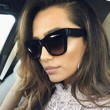 AFOFOO Fashion Women Sunglasses Lady Brand Designer Cat Eye Gradient Sun Glasses For Female UV400 Shades Eyewear Oculos de sol