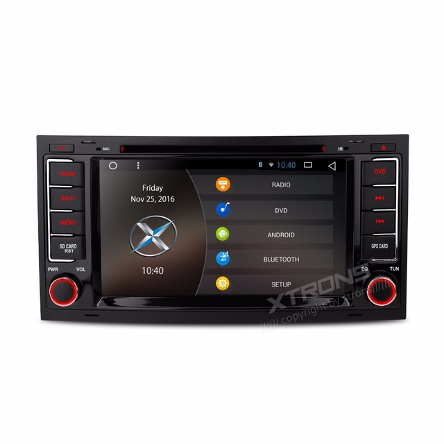 7&#8243; Quad Core Android 6.0 OS Special <font><b>Car</b></font> DVD for Volkswagen Touareg 2004-2011 with Full RCA Output Support &#038; OBD2 Adapter Support
