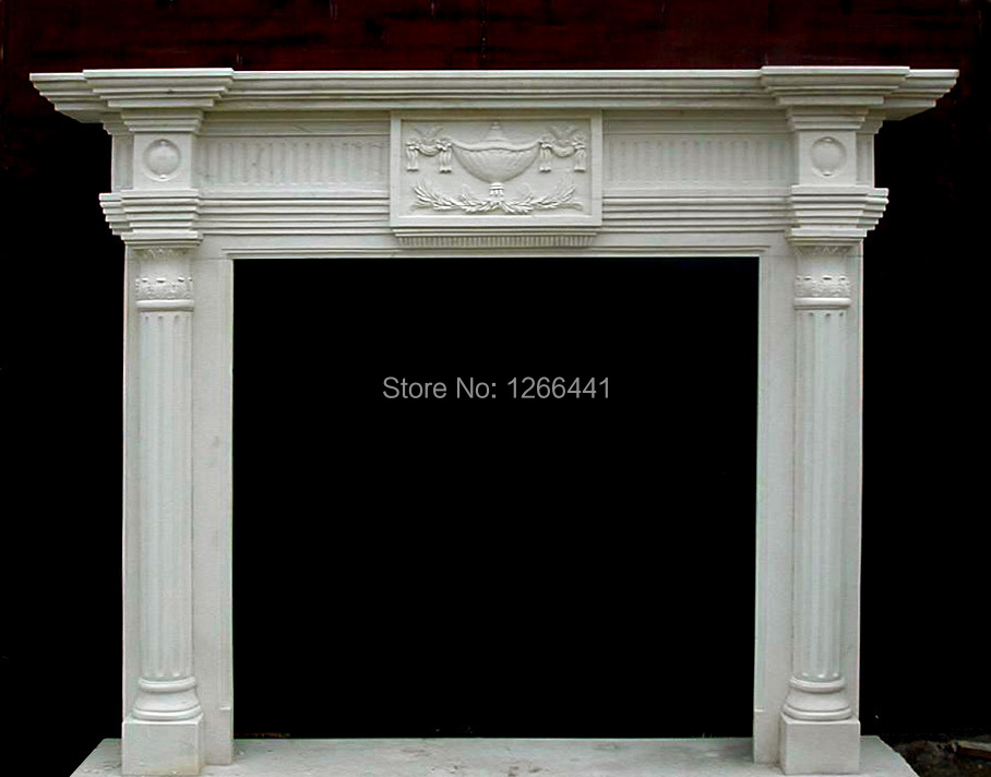 Online Buy Wholesale fireplace columns from China fireplace ...