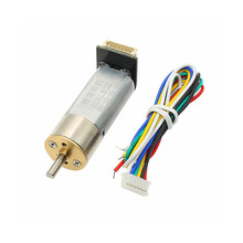 16G-050 DC Geared Motor / Code Wheel Magnetic Hall Encoder Speed AB Dual Phase