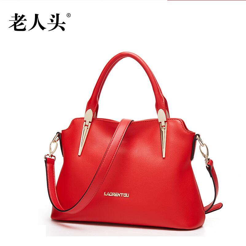 Women bag 2016 new genuine leather bag famous brands fashion women leather handbags shoulder bag quality killer package