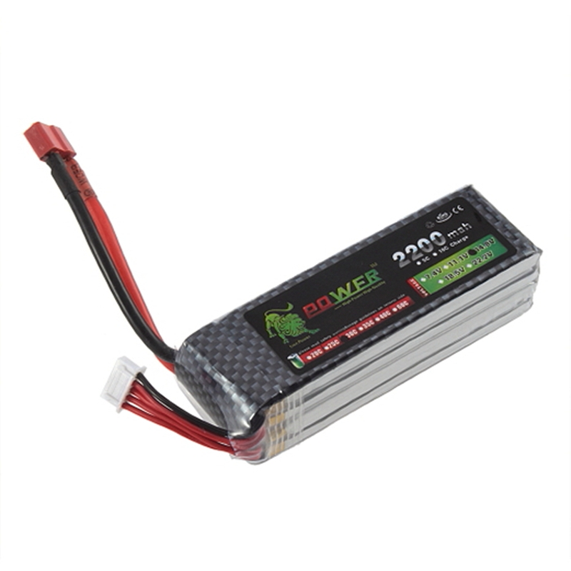 golden lion POWER 4S Lipo Battery <font><b>14.8v</b></font> <font><b>2200mAh</b></font> 30C RC Helicopter RC Car RC Boat image