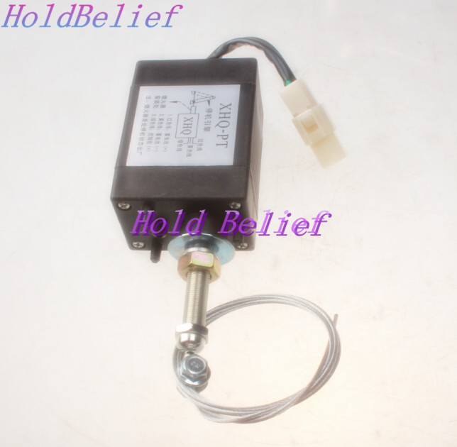 NEW Diesel Engine Flame Out Dispositivo di arresto motore solenoide XHQ-PT 12 V XHQPT12NEW Diesel Engine Flame Out Dispositivo di arresto motore solenoide XHQ-PT 12 V XHQPT12
