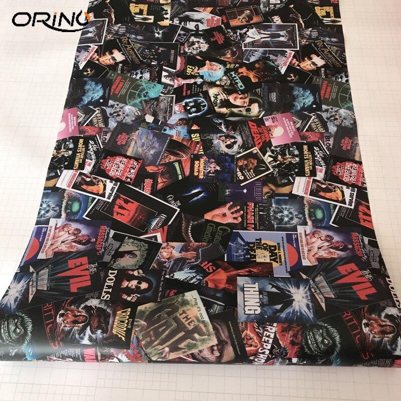 Movie Sticker Bomb Vinyl Film-5