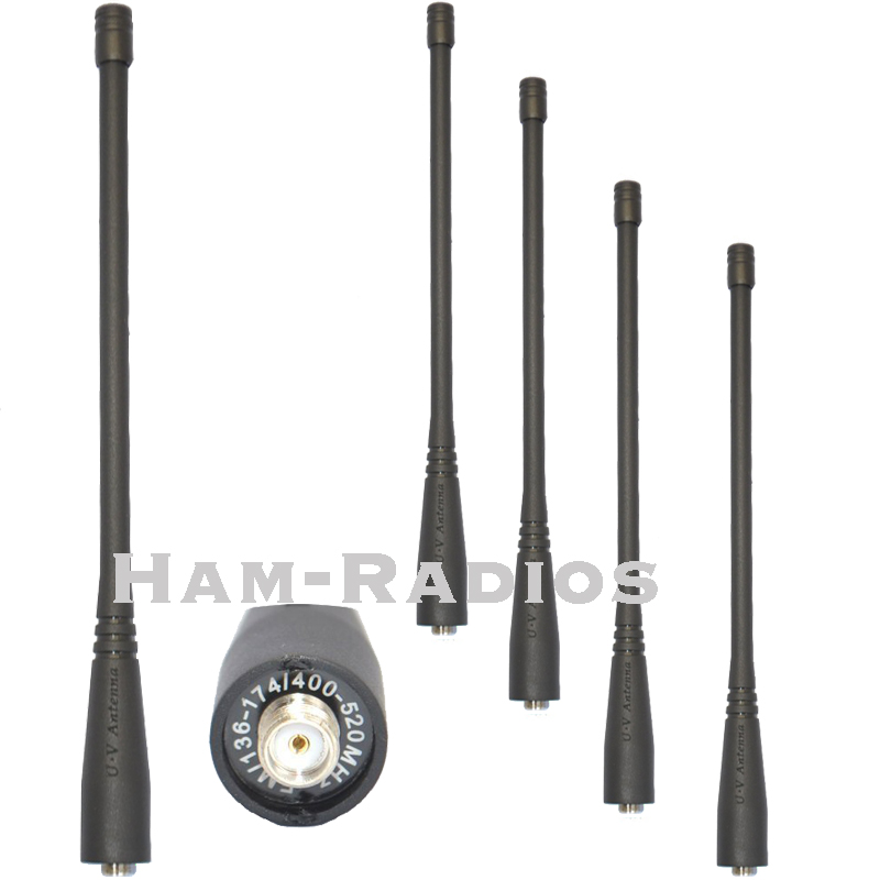 5 pcs d'origine baofeng uv-5r dual band 136-174 et 400-520 mhz talkie walkie antenne sma-f pour baofeng uv-5r 5ra 5rb 5rc 5rd 5re