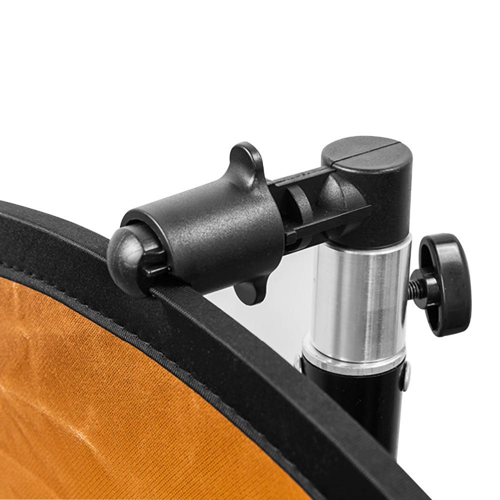 Gosear portátil foto estúdio de vídeo fotografia fundo refletor softbox suporte a disco clipe câmera equipamentos acessórios