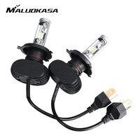 MALUOKASA 2Pcs 9005 HB3 9006 HB4 H11 H8 H9 H7 H4 HB2 9003 Hi Lo Led