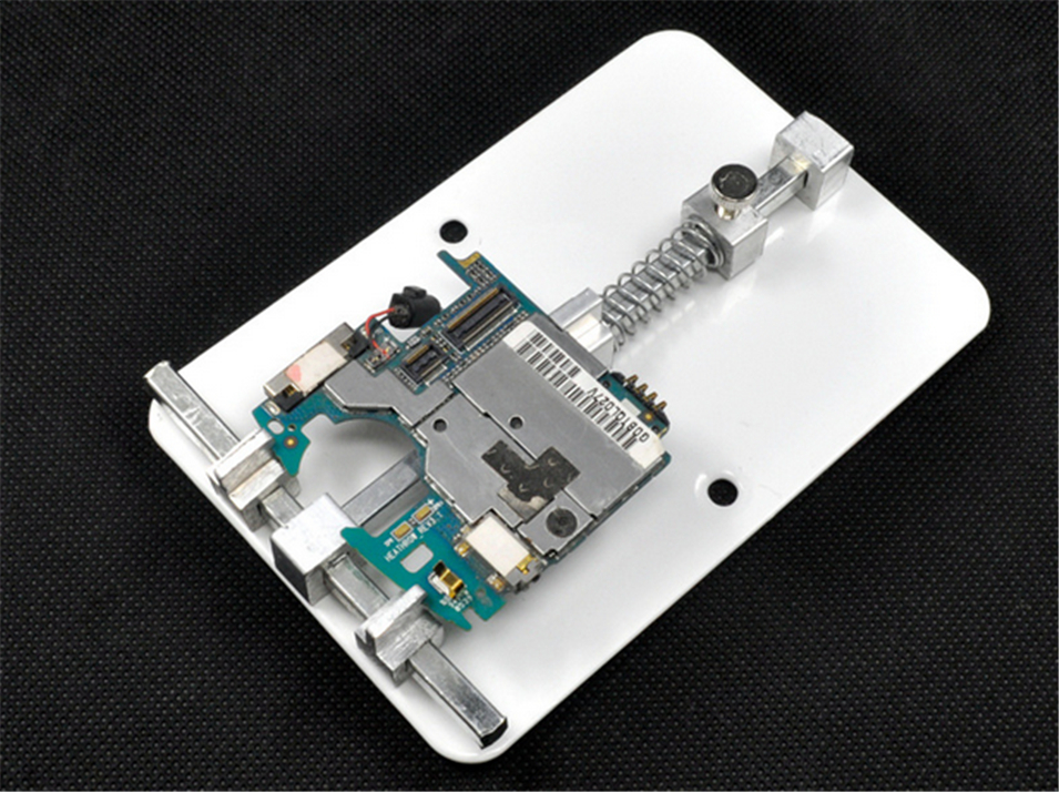 2017 Hot PCB Holder Jig For Cell Phone Circuit Board Repair Universal Rework Station SMD Soldering Platform universal nylon cell phone holster blue black size l